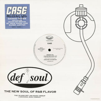 "Case - Missing You (Dance Mixes) (12"", Promo)"