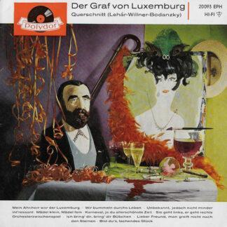 Franz Lehár - Der Graf Von Luxemburg : Querschnitt (Lehár - Willner - Bodanzky) (7