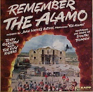 Terry Gilkyson And The Easy Riders - Remember The Alamo (LP)