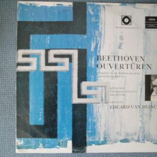 Beethoven*, Londoner Philharmonisches Orchester*, Eduard van Beinum - Ouvertüren (LP, Album, Mono, Club)