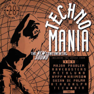 Various - Technomania (The New Continental Sound) (2xLP, Comp, Mixed)