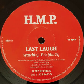 """Last Laugh (22) - Watching You (6m4s) (12"""", Single)"""