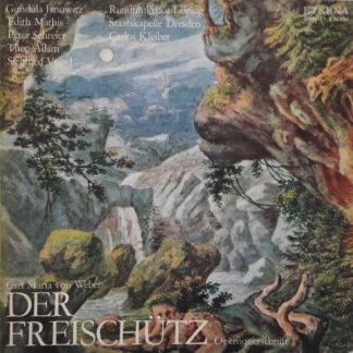 Carl Maria von Weber - Der Freischütz (Opernquerschnitt) (LP, RE)