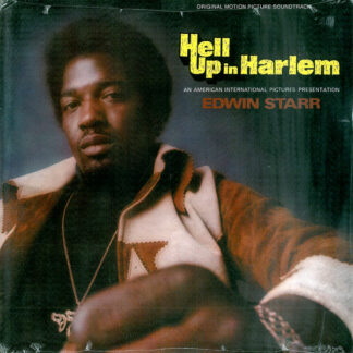 Edwin Starr - Hell Up In Harlem (Original Motion Picture Soundtrack) (LP, Album, RE)