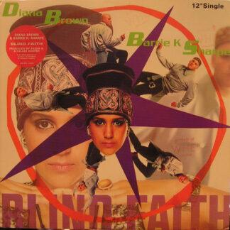 "Diana Brown And Barrie K Sharpe* - Blind Faith (12"", Promo)"