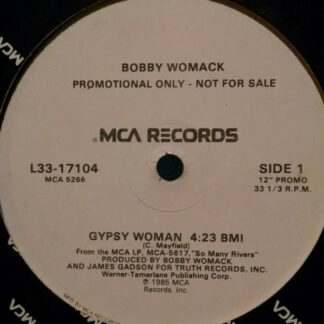 "Bobby Womack - Gypsy Woman (12"", Promo)"