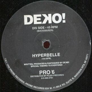 """Deko! - Hyperbelle (12"""", Etch)"""