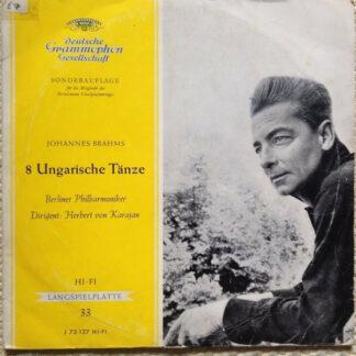 """Johannes Brahms - 8 Ungarische Tänze (10"""", Mono, Club)"""