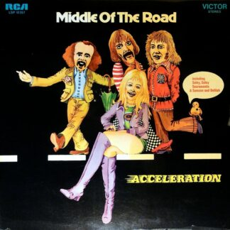 Middle Of The Road - Acceleration (LP, Album, Gat)
