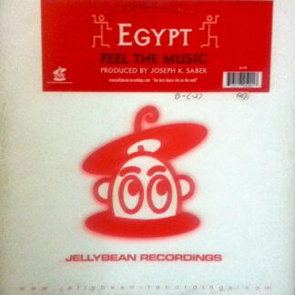 """Egypt - Feel The Music (12"""")"""
