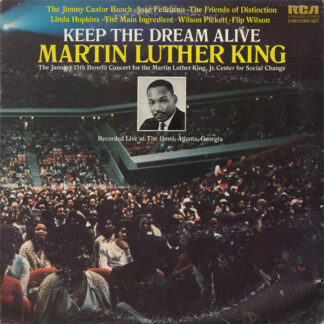 Various - Keep The Dream Alive Martin Luther King (2xLP, Album)