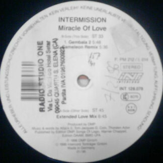 "Intermission - Miracle Of Love (12"")"