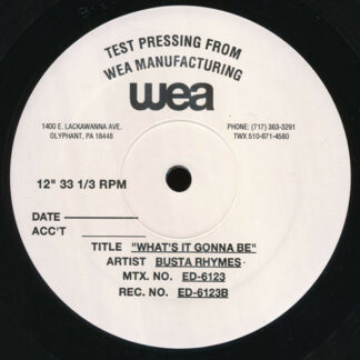 """Busta Rhymes - What's It Gonna Be (12"""", TP)"""