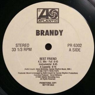 """Brandy (2) - Best Friend (12"""", Promo)"""