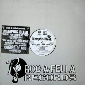 """Memphis Bleek - What You Think Of That (12"""", Promo)"""