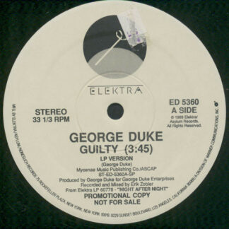 "George Duke - Guilty (12"", Promo, Spe)"