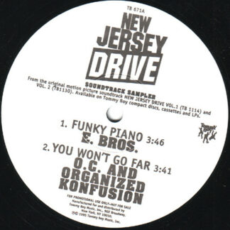 Various - New Jersey Drive Soundtrack Sampler (12