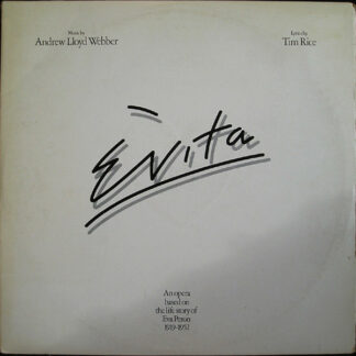 Andrew Lloyd Webber And Tim Rice - Evita (2xLP, Album, Gat)