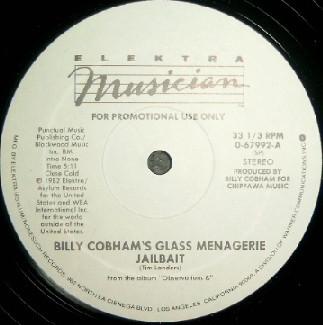 Billy Cobham's Glass Menagerie - Jailbait (12