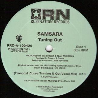"""Samsara (9) - Tuning Out (2x12"""", Promo)"""
