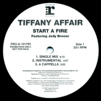 Tiffany Affair Featuring Jody Breeze - Start A Fire (12