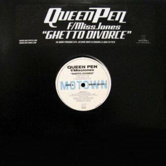 """Queen Pen F/ MissJones* - Ghetto Divorce (12"""", Promo)"""
