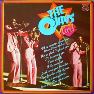 The O'Jays - Live! (LP, Album, RE)