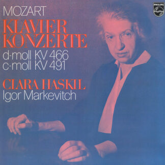 Mozart*, Clara Haskil, Igor Markevitch - Klavier Konzerte (D-moll KV 466, C-moll KV 491) (LP, RE, Gat)