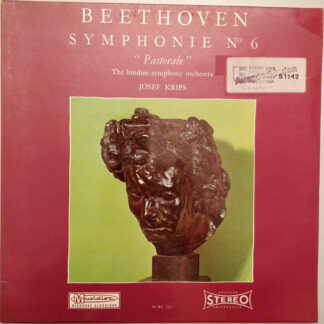 "Beethoven* - The London Symphony Orchestra, Josef Krips - Symphonie No 6 ""Pastorale"" (LP, RE)"