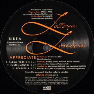 Latoya London Featuring Black Thought - Appreciate (12