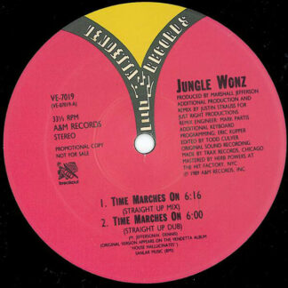 Jungle Wonz - Time Marches On (The Justin Strauss Remixes) (12