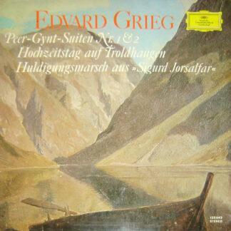 Edvard Grieg - Richard Kraus / Bamberger Symphoniker - Peer-Gynt-Suite Nr. 1 Op. 46 / Hochzeitstag Auf Troldhaugen Op. 65 Nr. 6 / Peer-Gynt-Suite Nr. 2 Op. 55 / Huldigungsmarsch Aus