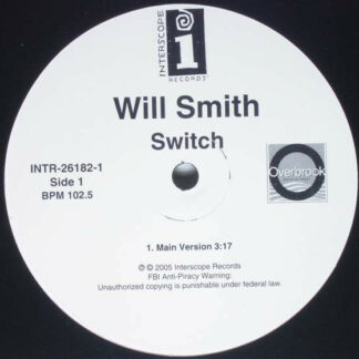 "Will Smith - Switch (12"", Promo)"