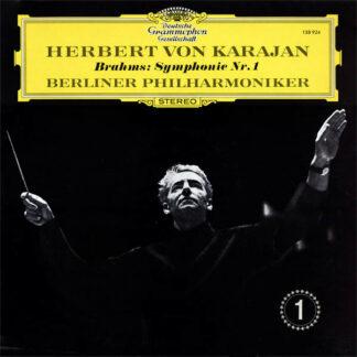 Herbert von Karajan - Brahms* - Berliner Philharmoniker - Symphonie Nr. 1 (LP, RP)