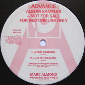 Marc Almond - Advance Album Sampler (12