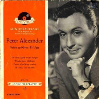 """Peter Alexander - Seine Größten Erfolge (7"""", EP, Mono)"""