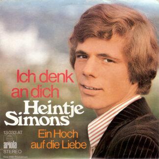"Heintje Simons* - Ich Denk An Dich (7"", Single)"