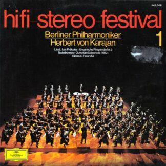 Berliner Philharmoniker, Herbert von Karajan – Liszt*, Tschaikowsky*, Sibelius* - Hifi-Stereo-Festival 1 (LP, Comp)