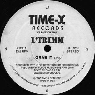 """L'Trimm - Grab It (12"""", Whi)"""