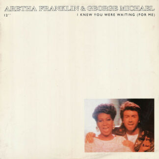"""Aretha Franklin & George Michael - I Knew You Were Waiting (For Me) (12"""", Single)"""