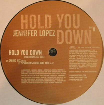 Jennifer Lopez - Hold You Down (12