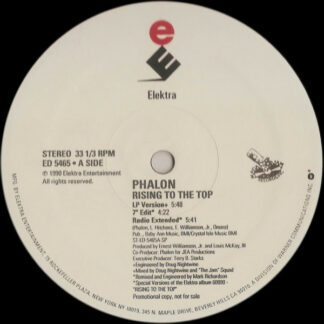 Phalon* - Rising To The Top (12