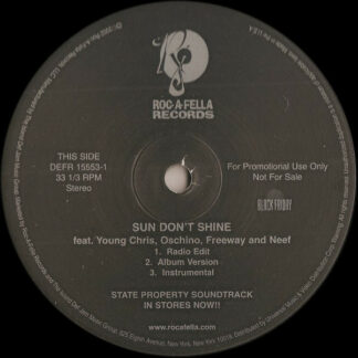 Various - Sun Don't Shine / Do You Want Me (12