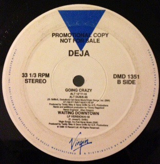 "Deja* - Going Crazy (12"", Promo)"