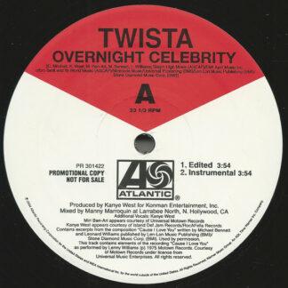 Twista - Overnight Celebrity (Vinyl, Promo)