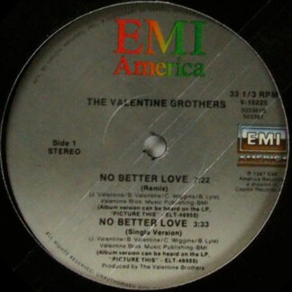 The Valentine Brothers - No Better Love (12