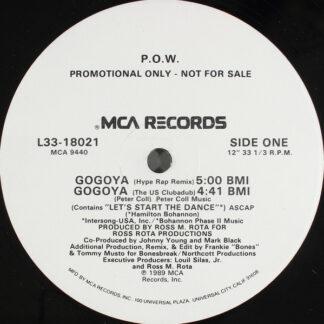 """P.O.W. - Gogoya (12"""", Promo, Glo)"""