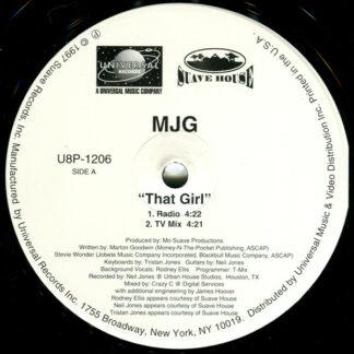 "MJG - That Girl (12"", Promo)"