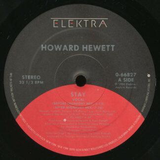 "Howard Hewett - Stay (12"", AR)"