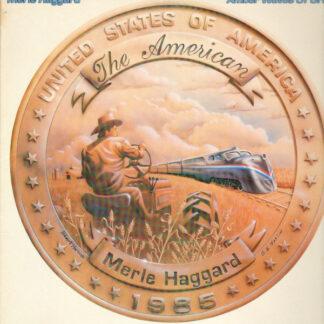 Merle Haggard - Amber Waves Of Grain (LP, Album, Car)